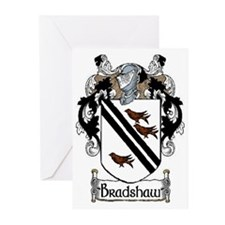 Bradshaw Coat of Arms Greeting Cards (Pk of 10)