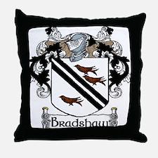 Bradshaw Coat of Arms Throw Pillow