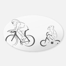 Father and Son Sticker (Oval)