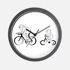 Father and Son Wall Clock