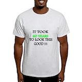 60th birthday for men Mens Light T-shirts