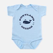 Portland Whaling Onesie