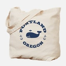 Portland Whaling Tote Bag