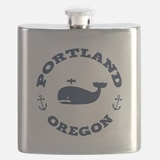 Portland Whaling Flask