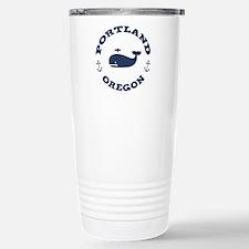 Portland Whaling Stainless Steel Travel Mug