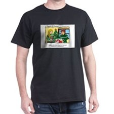 A Touch of Humor Hand Held Massager Comic T-Shirt