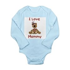 I Love Mommy (Boy) Infant Creeper Body Suit