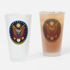 Great Ameristralian Seal Drinking Glass