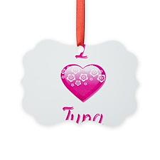 I Love/Heart Tuna Ornament