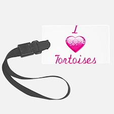 I Love/Heart Tortoises Luggage Tag