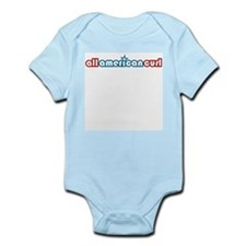 All American Curl Infant Bodysuit