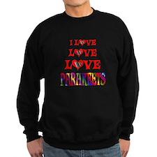 Love Love Parakeets Sweatshirt
