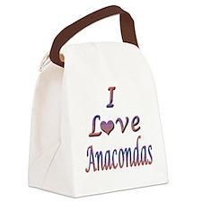 anacondas.png Canvas Lunch Bag