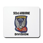 503RD AIRBORNE DIVISION Mousepad