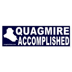 Quagmire Accomplished Bumper Bumper Sticker