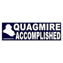 Quagmire Accomplished Bumper Bumper Sticker