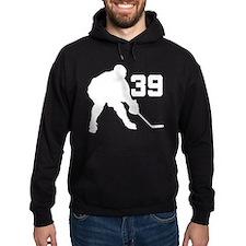 Hockey Player Number 39 Hoodie