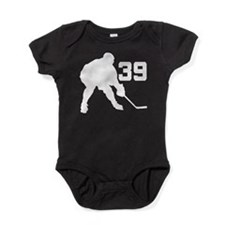 Hockey Player Number 39 Baby Bodysuit