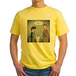Polar Bears and Reindeer Yellow T-Shirt