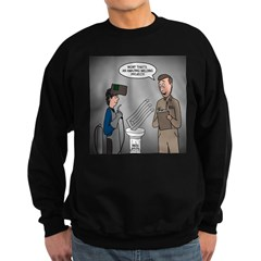 Polar Bears and Reindeer Sweatshirt (dark)