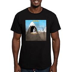 Antisocial Media Men's Fitted T-Shirt (dark)