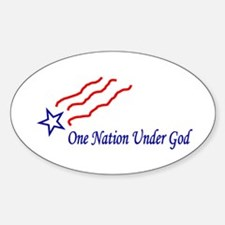 One Nation Star Decal