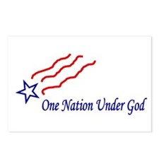 One Nation Star Postcards (Package of 8)