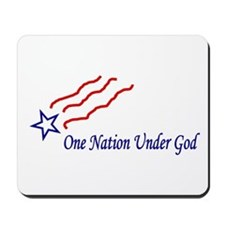 One Nation Star Mousepad