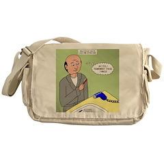 Bald Advantage No. 2 Messenger Bag