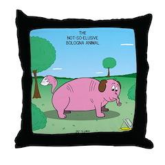 Oh Bologna! Throw Pillow