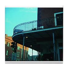 French Quarter Balcony Tile Coaster