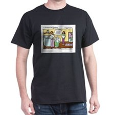 A Touch of Humor Massage Laundry Comic T-Shirt