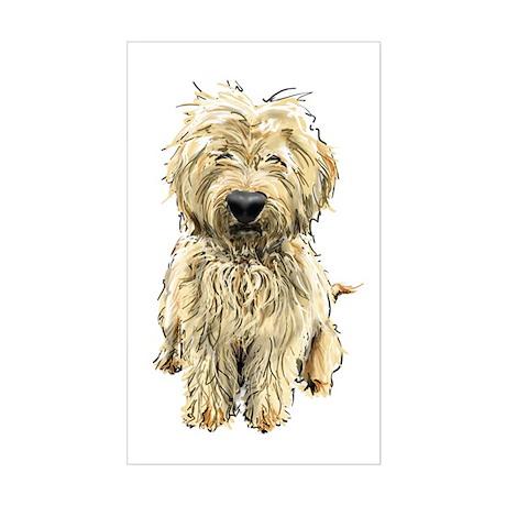 Goldendoodle Rectangle Sticker