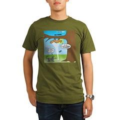 Fraidy Cat Organic Men's T-Shirt (dark)