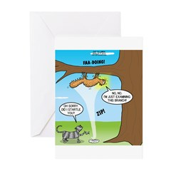 Fraidy Cat Greeting Cards (Pk of 10)
