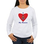 Masonic love my Mason Women's Long Sleeve T-Shirt