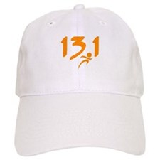 Orange 13.1 half-marathon Baseball Baseball Cap