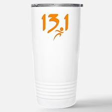 Orange 13.1 half-marathon Travel Mug