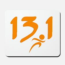 Orange 13.1 half-marathon Mousepad