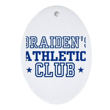 Braiden Oval Ornament