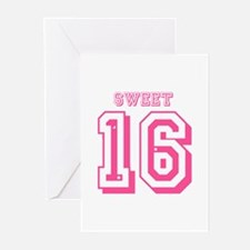 Sweet 16 Greeting Cards (Pk of 20)
