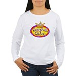 Scrapbook Queen Crown Women's Long Sleeve T-Shirt