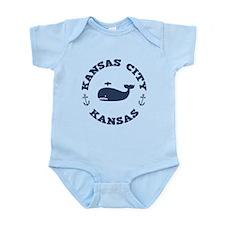 KC Whaling Excursions Infant Bodysuit