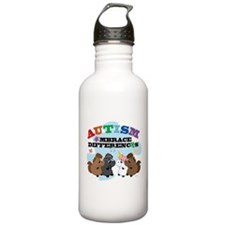 Autism Embrace Differences Water Bottle