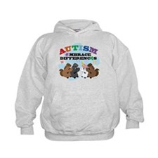 Autism Embrace Differences Hoodie
