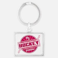 #1 Hockey Grandma Keychains