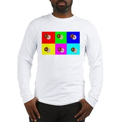 Andy Warhola Bagels Long Sleeve T-Shirt