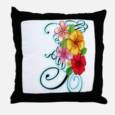 Flower Fusion Throw Pillow