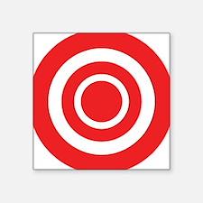 "bullseye.png Square Sticker 3"" x 3"""