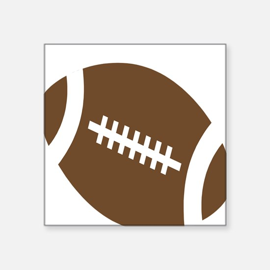 """football-.png Square Sticker 3"""" x 3"""""""